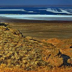 "фото ""Озеро Баскунчак"""