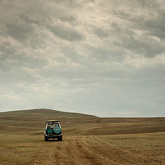 "photo ""A road through desert"""