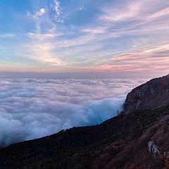 "фото ""над облаками"""