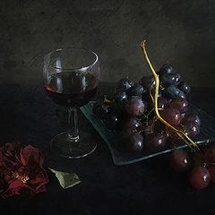"""фото """"Роза, вино, виноград"""""""