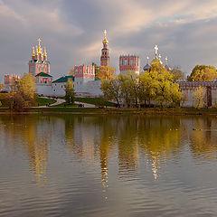 """фото """"Новодевичий монастырь"""""""