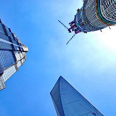 "фото ""Шанхай строится."""