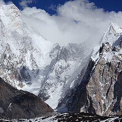 "фото ""Вершина Gasherbrum 4 и группа Gasherbrum"""