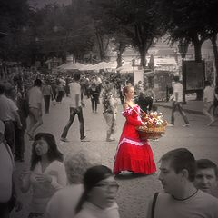 "photo ""Lady in red"""