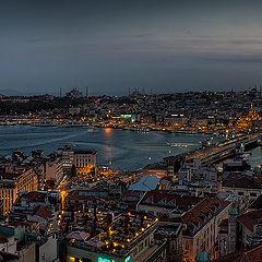 """фото """"Стамбул, панорама с Galata tower"""""""