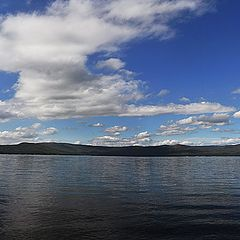 "photo ""lake Turgoyak"""
