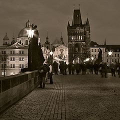 "photo ""Charles Bridge in Prague"""