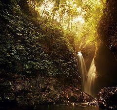 "фото ""Водопад Гит-Гит, Бали, Индонезия"""