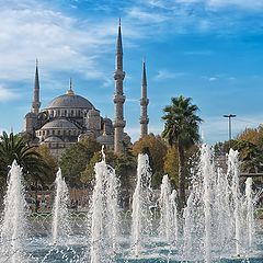 "фото ""Sultan Ahmed Mosque (Blue Mosque)"""