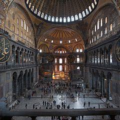 """фото """"Hagia Sofia (inside)"""""""