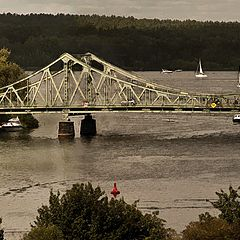 "photo ""Glienicker Brücke)"""