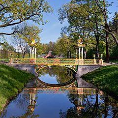 """photo """"Chinese bridge. Tsarskoye Selo"""""""
