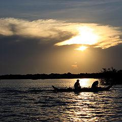 """фото """"Река в Камбоджи"""""""