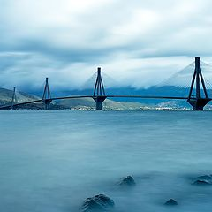 """фото """"Rio - Antirio bridge"""""""