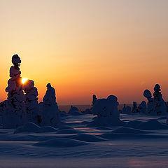 """фото """"Закат на горе Темаиз."""""""