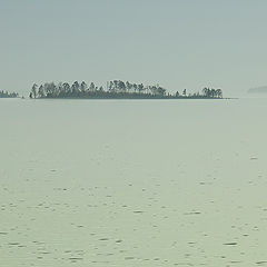 "photo ""Islands in the mist"""