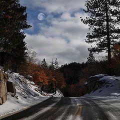 """photo """""""" On the way to Christmas Card Lake """""""""""