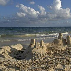 """фото """"песочные замки ...."""""""