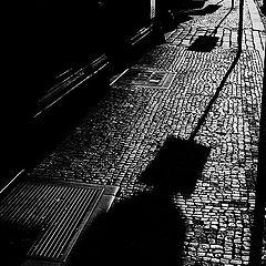 "photo ""Tротуар a тени"""