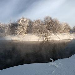 """фото """"Морозный островок"""""""