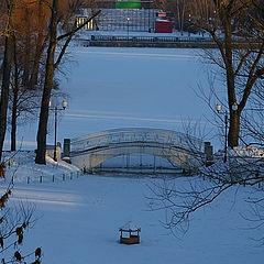 "фото ""Зима в Нескучном саду."""