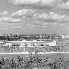 """фото """"Панорама Москвы с Воробьёвых (Ленинских) гор"""""""