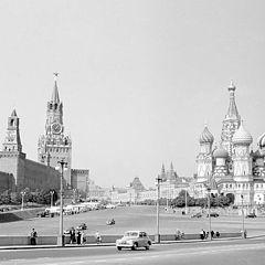 """фото """"Кремль и Покровский собор."""""""