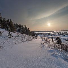 "фото ""Снежная река"""