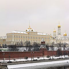 """photo """"Panorama of the Moscow Kremlin."""""""