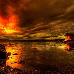 "фото ""Red Sky...."""