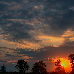 "photo ""The sky at sunset"""