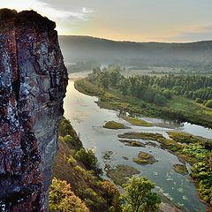 """фото """"Утро на реке Юрюзань"""""""