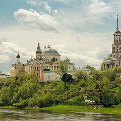 """фото """"Борисоглебский монастырь, Торжок"""""""