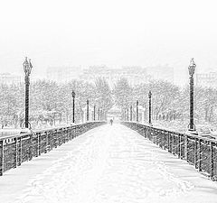 "фото ""Снежный мост"""