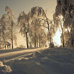 """фото """"Свет Белой Горы..."""""""