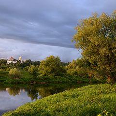 """фото """"Вид на Саввино-Сторожевский монастырь"""""""