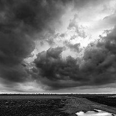 "photo ""Dark clouds over Vojvodina"""