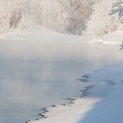 """фото """"Рыбак в белом безмолвии"""""""