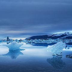 "фото ""Blue Ice...."""
