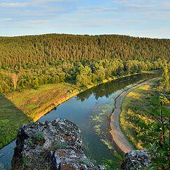 """фото """"река Юрюзань"""""""
