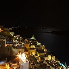 """фото """"Ночь на Санторини"""""""