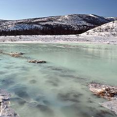 """фото """"У замерзшей реки"""""""