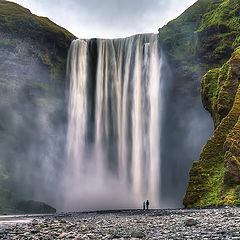 "photo ""Skogafoss Iceland"""