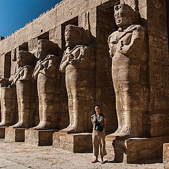"""photo """"Old Egyptian Temple"""""""