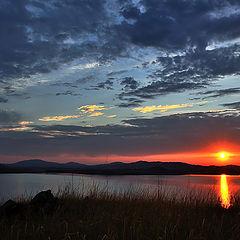 """фото """"Восход над озером"""""""