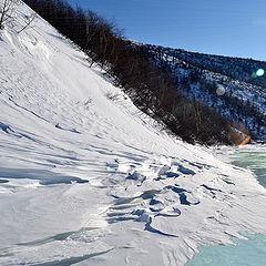 """фото """"У замерзшей реки 2"""""""