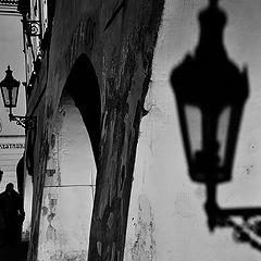 "фото ""Фонарь a тень"""