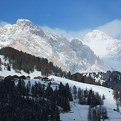 """photo """"Italy. Alps"""""""