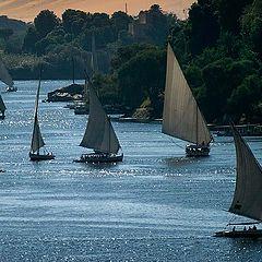 """photo """"Sailing on the Nile 03"""""""
