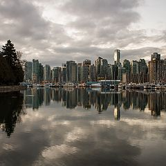 "photo ""Vancouver Canada at Dawn"""